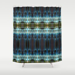 Meeting of the Society for the Advancement of Electric Q-Tips Shower Curtain