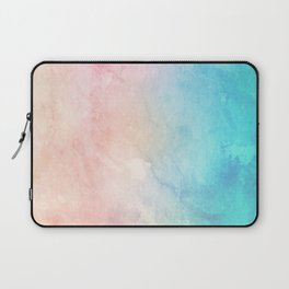 Fire and Ice - Watercolor Painting Laptop Sleeve