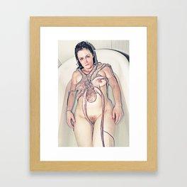 Feeder Framed Art Print