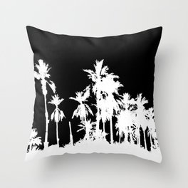Date Palm Trees 2 Throw Pillow