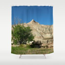 Rugged Landscape Tree Shower Curtain