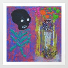 Dance this mess around Art Print