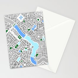 Infinite City - Winter Stationery Cards
