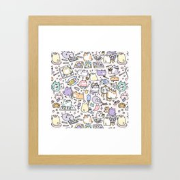 Artsy Cats Framed Art Print
