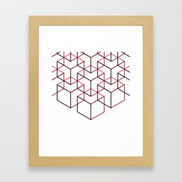 Cubes II Framed Art Print