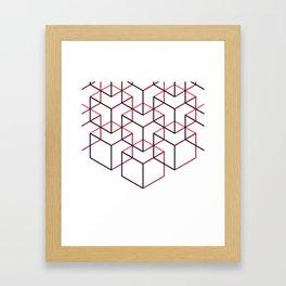 Cubes II Framed Art Print