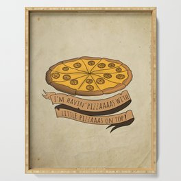 Donald Trump Pizza Serving Tray