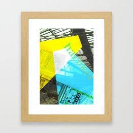 Story of the Roads - 2 Framed Art Print