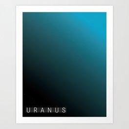 Uranus Tapestry Art Print