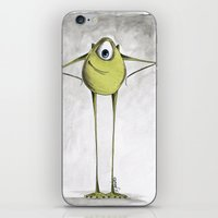 monsters iPhone & iPod Skins featuring Monsters  by Jena Sinclair