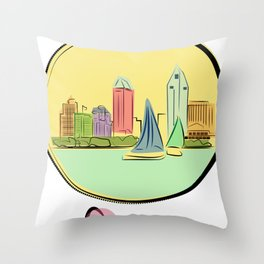 Got Love For Daygo (San Diego) Throw Pillow