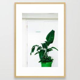 Electrical Room Framed Art Print