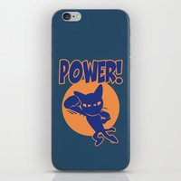 power iPhone & iPod Skins featuring Power! by BATKEI