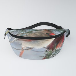 Shining on Her Own (Cardinal) Fanny Pack