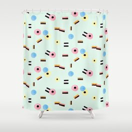 sweet things: allsorts Shower Curtain