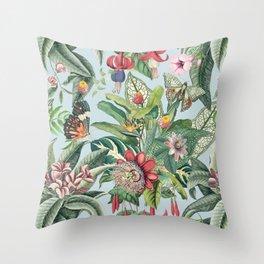 Tropical Paradise VI Throw Pillow