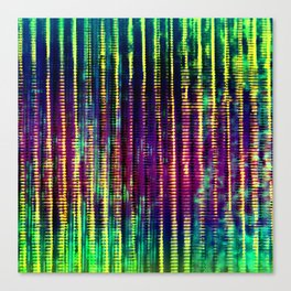 Syntax (Yellow + Green) Canvas Print