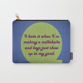 Milkshake Typeography Carry-All Pouch
