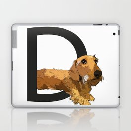 D is for Dachshund Laptop & iPad Skin
