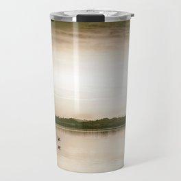 Sunset in camera obscur (2) Travel Mug
