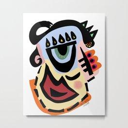 Dragon Head Metal Print