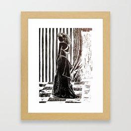 After-Party Framed Art Print