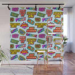 Funky pattern #06 Wall Mural