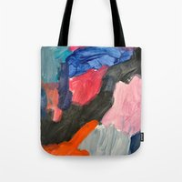 sound Tote Bags featuring Sound by Lauren Packard