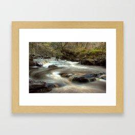 West Beck, Goathland Framed Art Print