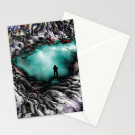 Light on the other side Stationery Cards