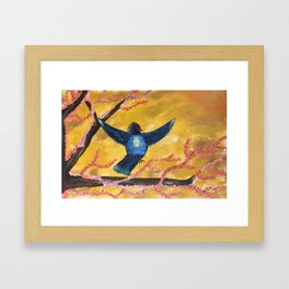 """""""FREEDOM"""" ORIGINAL PAINTING BY AMBER WADE Framed Art Print"""