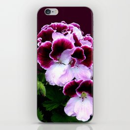 Pink, Purple, Flower Power iPhone Skin