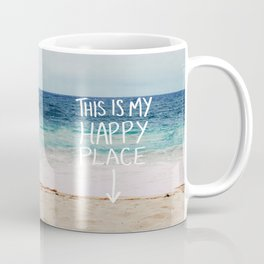 My Happy Place (Beach) Coffee Mug