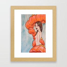 monarch of the lanterns Framed Art Print