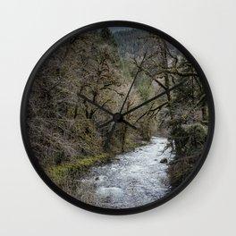 Hackleman Creek No. 2 Wall Clock