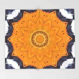 Star Burst Throw Blanket