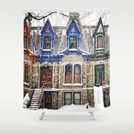 The Enchanting Winter Shower Curtain