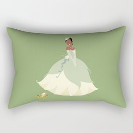 the princess and the frog Rectangular Pillow