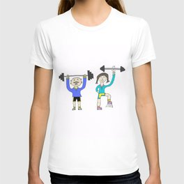 Work it out! T-shirt