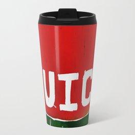 Juice - Red and Green - Dream Pop Art Travel Mug