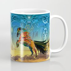 The Wind of Time (Red Horse) Mug