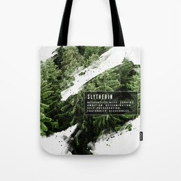 Slytherin Nature Tote Bag