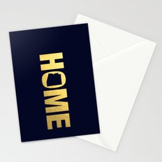 Arizona home state faux gold foil print Stationery Cards