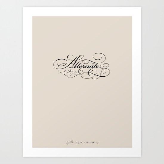 Alternate Art Print