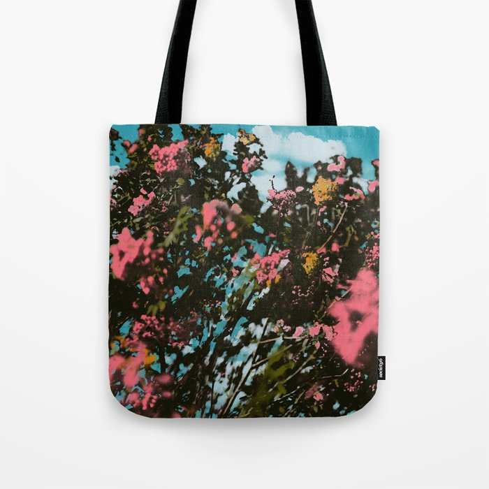 Birch Island Print Tote Bag