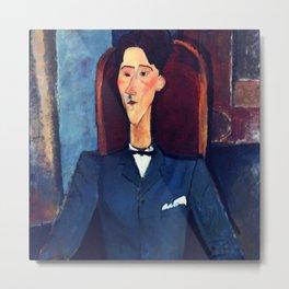 "Amedeo Modigliani ""Jean Cocteau"" Metal Print"