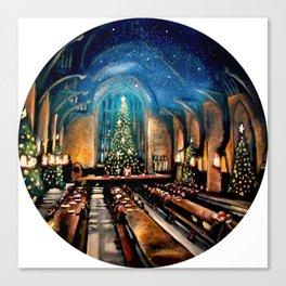 Magic at Christmas Canvas Print