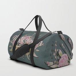 Nasty Women Resist: Les Fleurs de la Resistance Duffle Bag