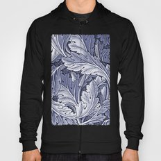 Acanthus Nouveau Style in Blue Hoody
