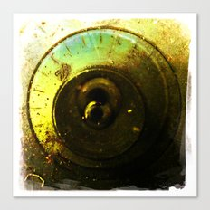 number 2 dial Canvas Print